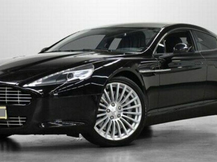 Aston Martin RAPIDE  V12 6.0 477 TOUCHTRONIC 12/2012 noir métal - 1