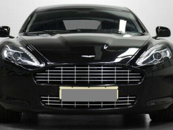 Aston Martin RAPIDE  V12 6.0 477 TOUCHTRONIC 12/2012 noir métal - 3