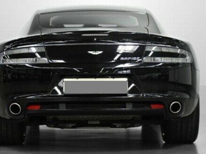 Aston Martin RAPIDE  V12 6.0 477 TOUCHTRONIC 12/2012 noir métal - 4