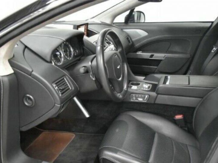 Aston Martin RAPIDE  V12 6.0 477 TOUCHTRONIC 12/2012 noir métal - 5