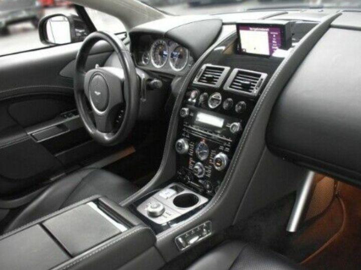 Aston Martin RAPIDE  V12 6.0 477 TOUCHTRONIC 12/2012 noir métal - 8