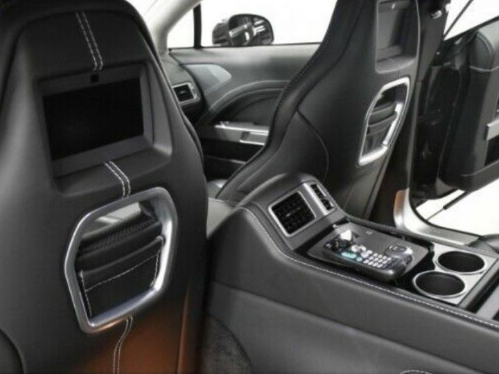 Aston Martin RAPIDE  V12 6.0 477 TOUCHTRONIC 12/2012 noir métal - 9