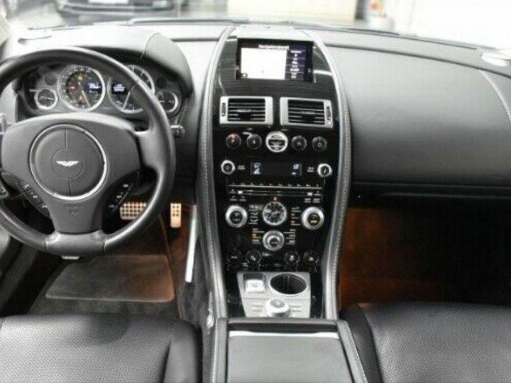 Aston Martin RAPIDE  V12 6.0 477 TOUCHTRONIC 12/2012 noir métal - 10