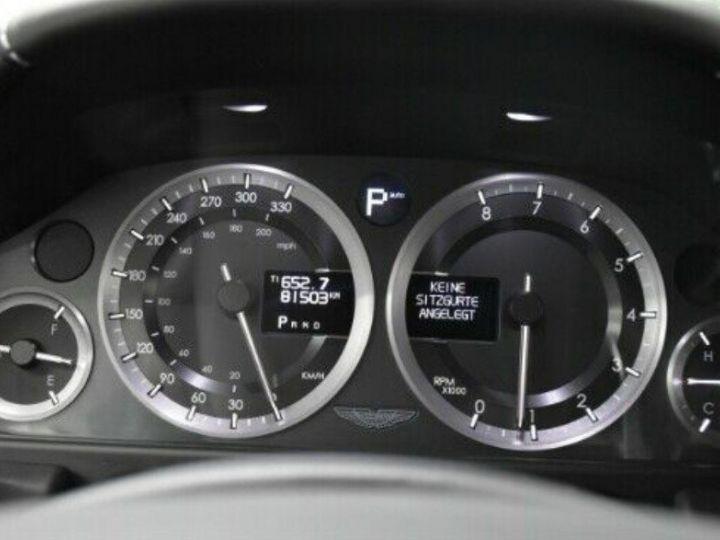 Aston Martin RAPIDE  V12 6.0 477 TOUCHTRONIC 12/2012 noir métal - 11
