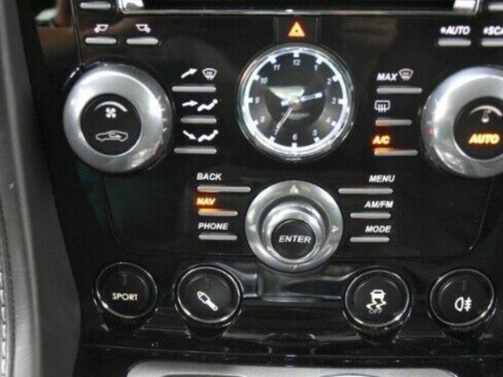 Aston Martin RAPIDE  V12 6.0 477 TOUCHTRONIC 12/2012 noir métal - 13