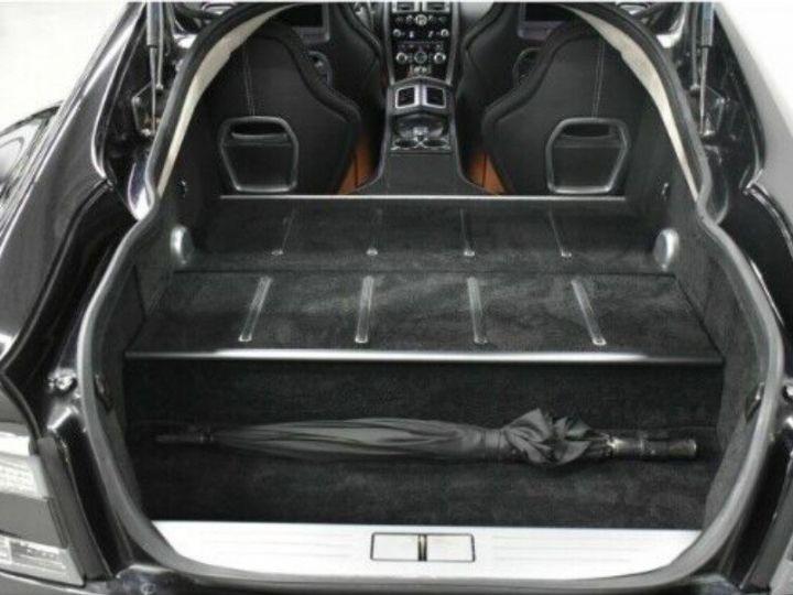 Aston Martin RAPIDE  V12 6.0 477 TOUCHTRONIC 12/2012 noir métal - 16