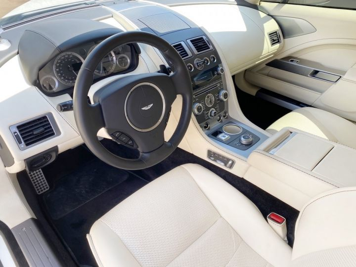 Aston Martin Rapide V12 6.0 S 558 CV - MONACO Blanc  - 6