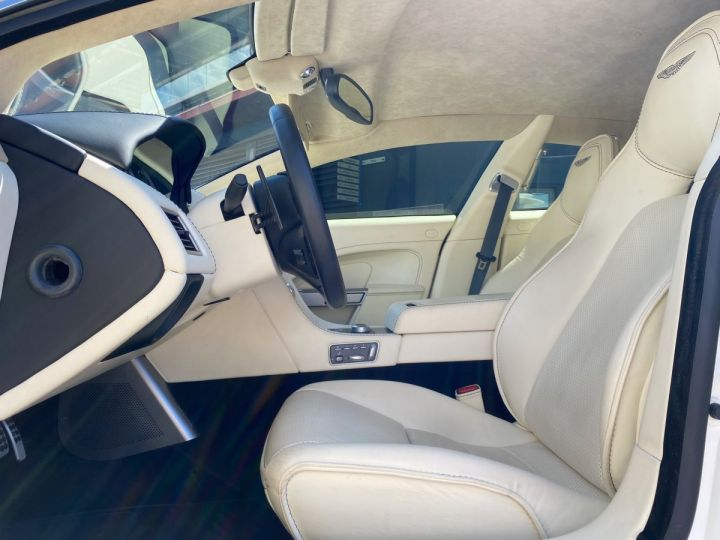 Aston Martin Rapide V12 6.0 S 558 CV - MONACO Blanc  - 8
