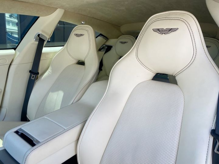 Aston Martin Rapide V12 6.0 S 558 CV - MONACO Blanc  - 9