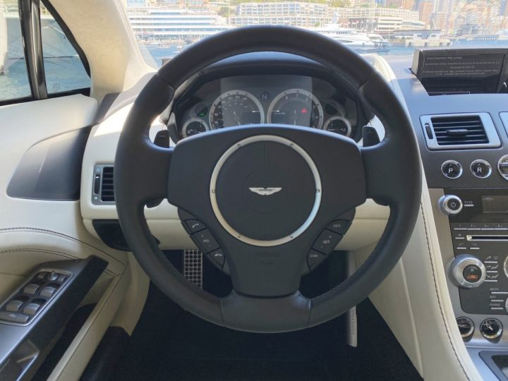 Aston Martin Rapide V12 6.0 S 558 CV - MONACO Blanc  - 11