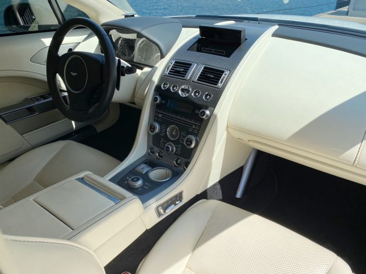 Aston Martin Rapide V12 6.0 S 558 CV - MONACO Blanc  - 12
