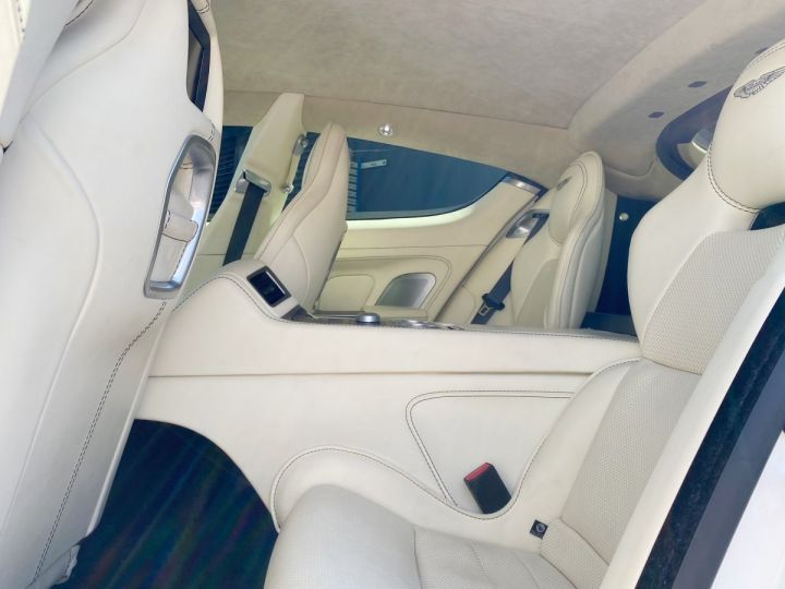 Aston Martin Rapide V12 6.0 S 558 CV - MONACO Blanc  - 14