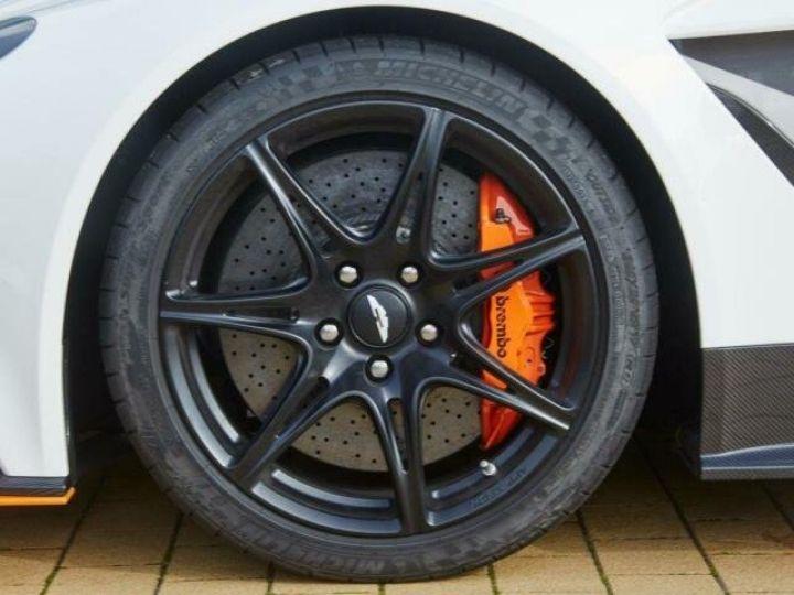 Aston Martin V12 Vantage GT12 #One of one#Geneva Motorshow Car#Modèle inspiré GT3 Compétition Speedway White métal - 5