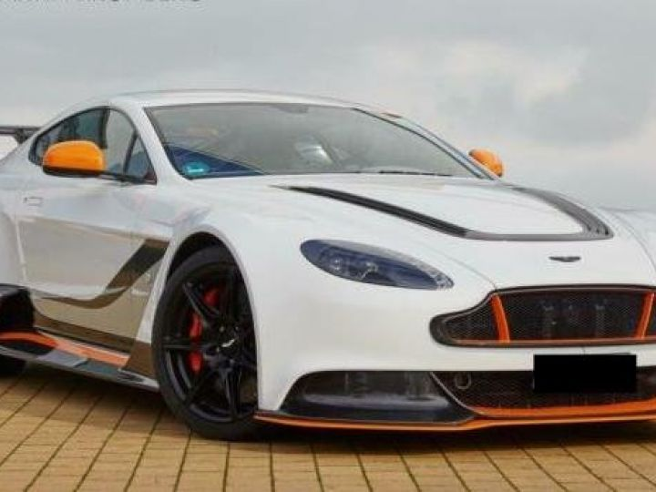 Aston Martin V12 Vantage GT12 #One of one#Geneva Motorshow Car#Modèle inspiré GT3 Compétition Speedway White métal - 1