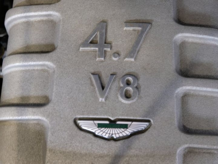 Aston Martin V8 Vantage 4.7 sportshift gris - 6