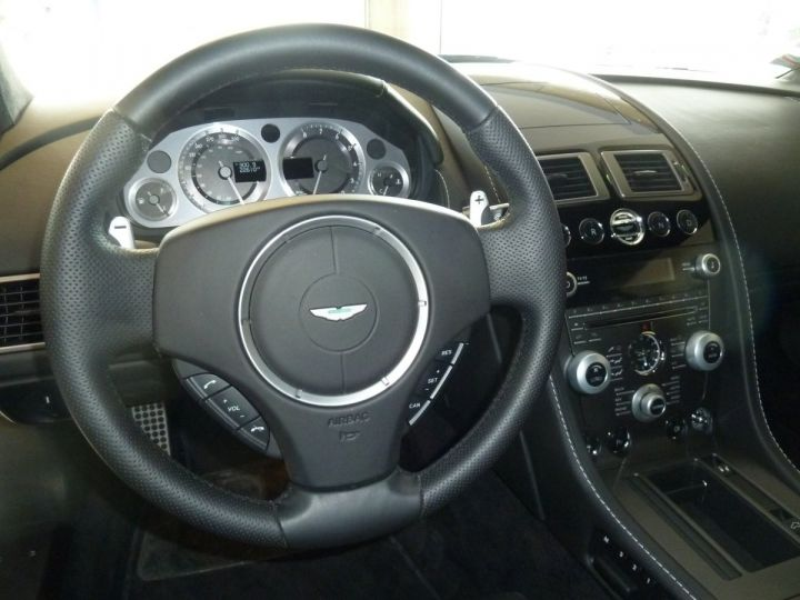 Aston Martin V8 Vantage 4.7L SPORTSHIFT GRIS ANTHRACITE METALLISE - 8