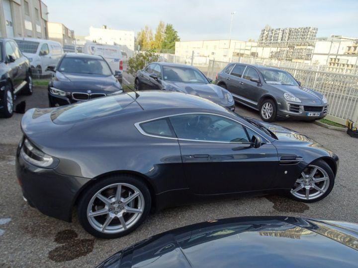 Aston Martin V8 Vantage AMV8 4.3L 390Ps BV6 32Km VN 118300e gris meteorite - 7