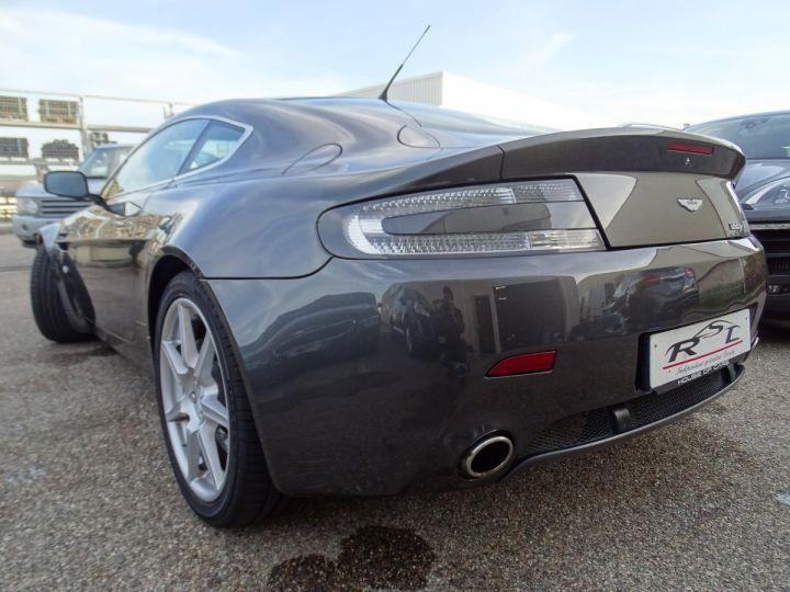Aston Martin V8 Vantage AMV8 4.3L 390Ps BV6 32Km VN 118300e gris meteorite - 10