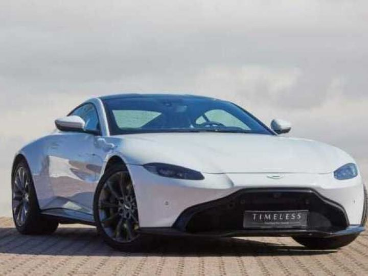 Aston Martin V8 Vantage NEW VANTAGE#BODYPACK BLACK White Stone (AML SPECIAL) - 2