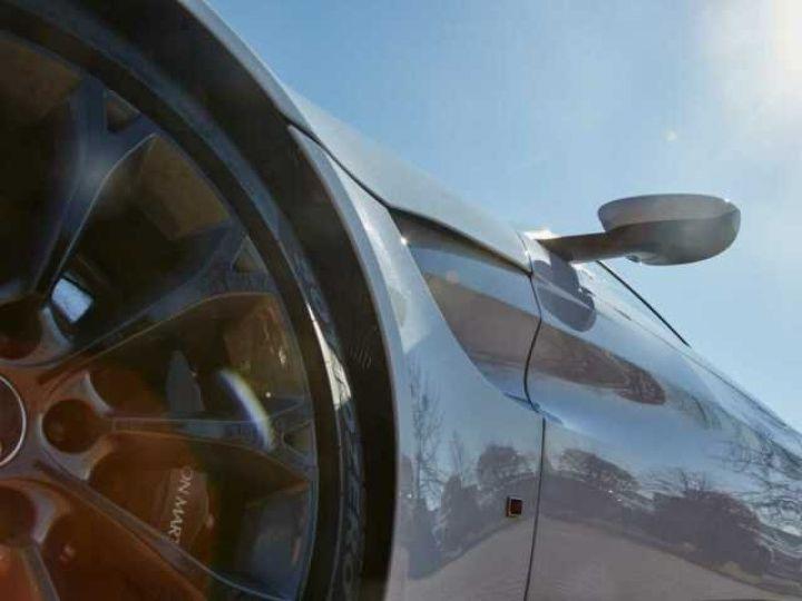 Aston Martin V8 Vantage NEW VANTAGE#BODYPACK BLACK White Stone (AML SPECIAL) - 5