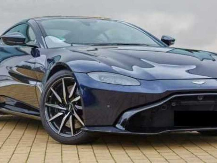 Aston Martin V8 Vantage NEW VANTAGE#Bodypack Black#Pack Sport Plus Midnight Blue métal - 1