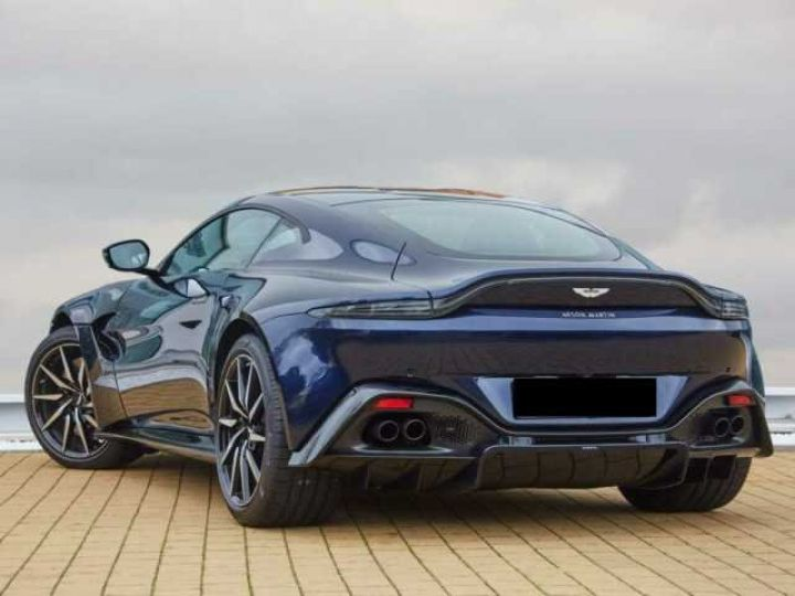 Aston Martin V8 Vantage NEW VANTAGE#Bodypack Black#Pack Sport Plus Midnight Blue métal - 2