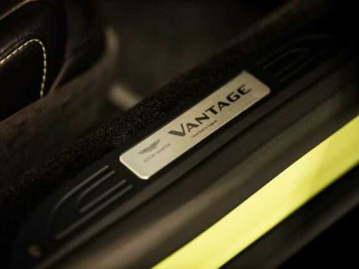 Aston Martin V8 Vantage NEW Vantage # Lime Essence  Lime Essence - 17