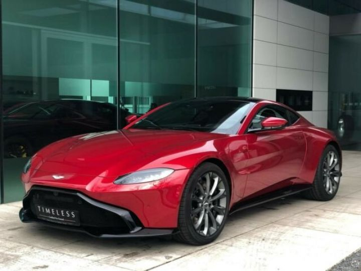 Aston Martin V8 Vantage NEW VANTAGE#Pack Black extérieur#Pack Sport Plus Hyper Red métal - 2
