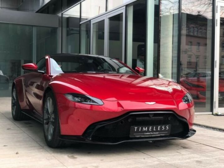 Aston Martin V8 Vantage NEW VANTAGE#Pack Black extérieur#Pack Sport Plus Hyper Red métal - 11