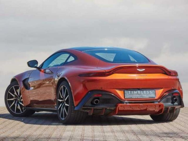 Aston Martin V8 Vantage NEW VANTAGE#PACK SPORT PLUS#BODYPACK BLACK Cinnabar Orange métal - 1