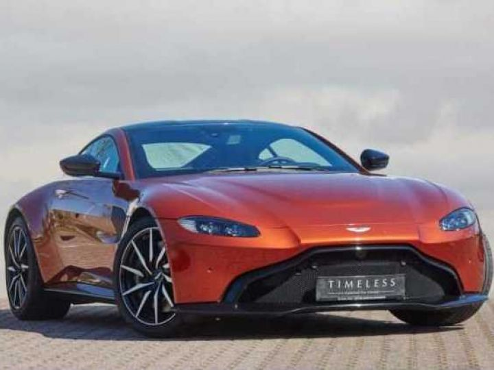 Aston Martin V8 Vantage NEW VANTAGE#PACK SPORT PLUS#BODYPACK BLACK Cinnabar Orange métal - 2