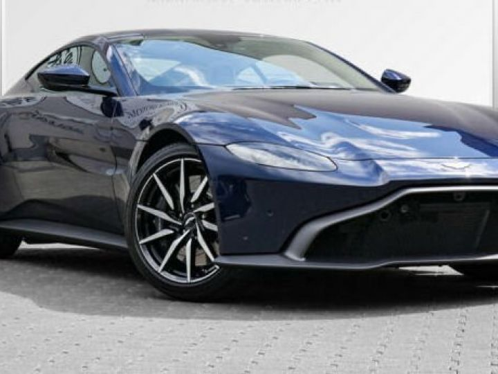 Aston Martin V8 Vantage Pack extérieur Black#cuir bicolore Midnight blue métal - 1