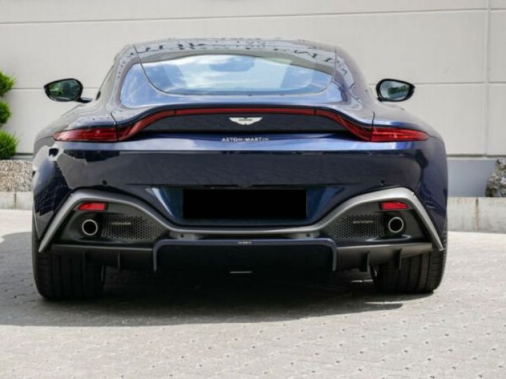 Aston Martin V8 Vantage Pack extérieur Black#cuir bicolore Midnight blue métal - 8