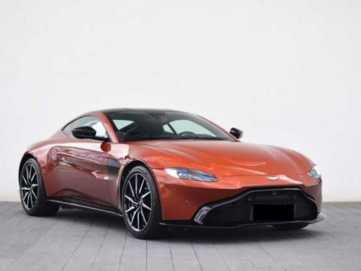 Aston Martin V8 Vantage Pack Sport Plus#Pack Exterior Black #Pack Comfort Cinnabar Orange métal - 1