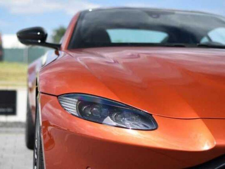 Aston Martin V8 Vantage Pack Sport Plus#Pack Exterior Black #Pack Comfort Cinnabar Orange métal - 12