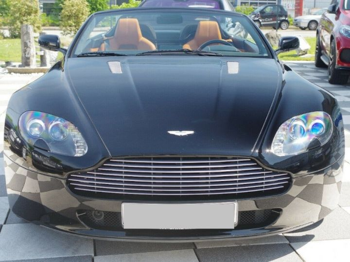 Aston Martin V8 Vantage ROADSTER 4.3 385  BVA6 noir métal - 5
