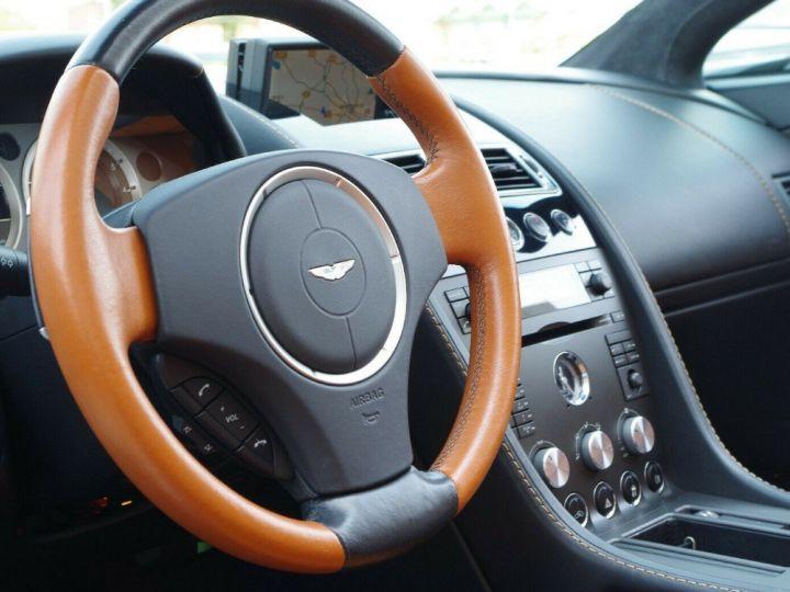 Aston Martin V8 Vantage ROADSTER 4.3 385  BVA6 noir métal - 15
