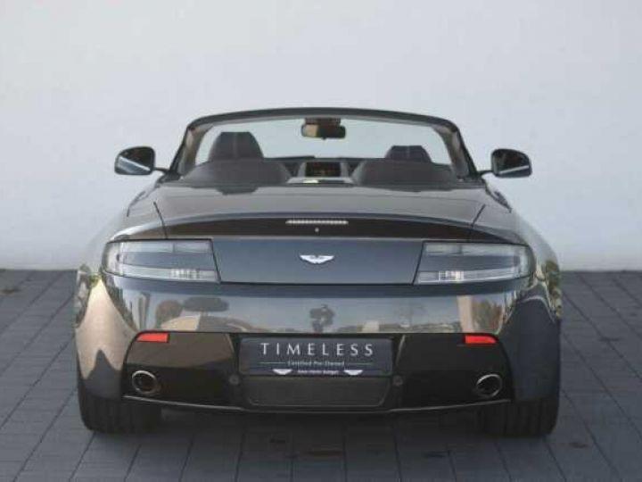 Aston Martin V8 Vantage S ROADSTER SPORTSHIFT Meteorite Silver métal - 7