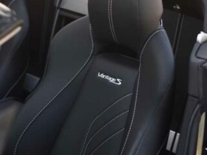 Aston Martin V8 Vantage S ROADSTER SPORTSHIFT Meteorite Silver métal - 14
