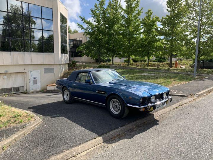 Aston Martin V8 Volante Bleu Royal Occasion - 1
