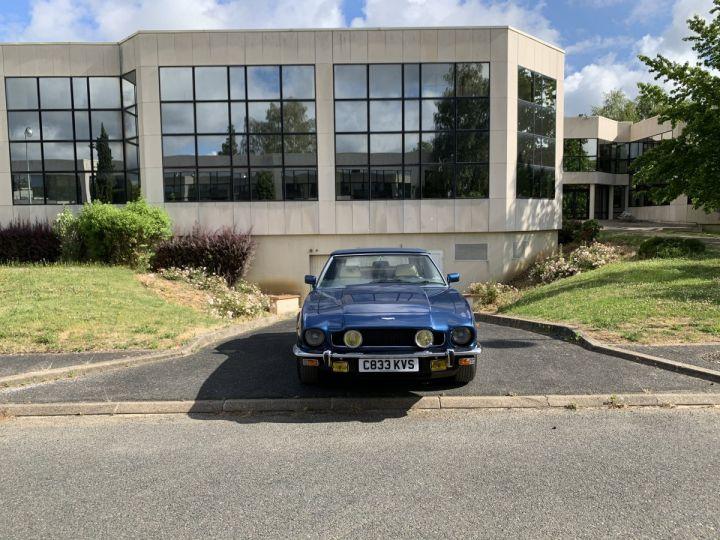 Aston Martin V8 Volante Bleu Royal Occasion - 4