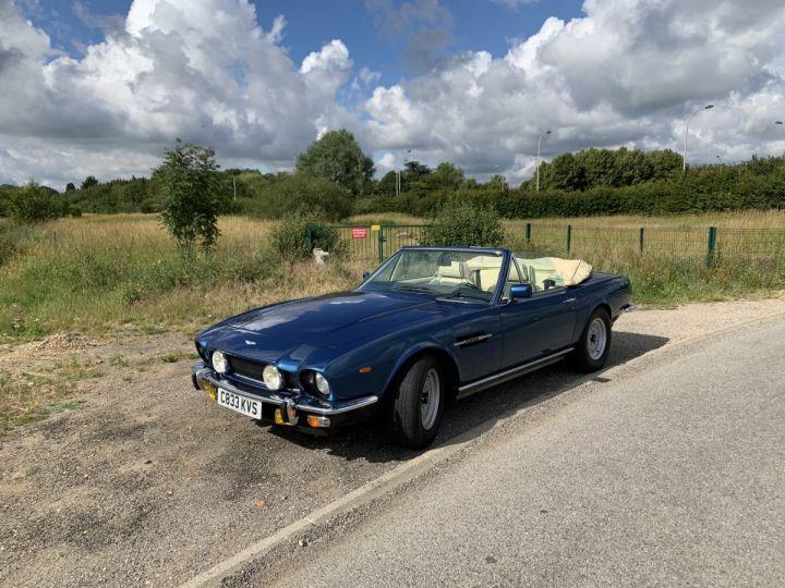 Aston Martin V8 Volante Bleu Royal Occasion - 7