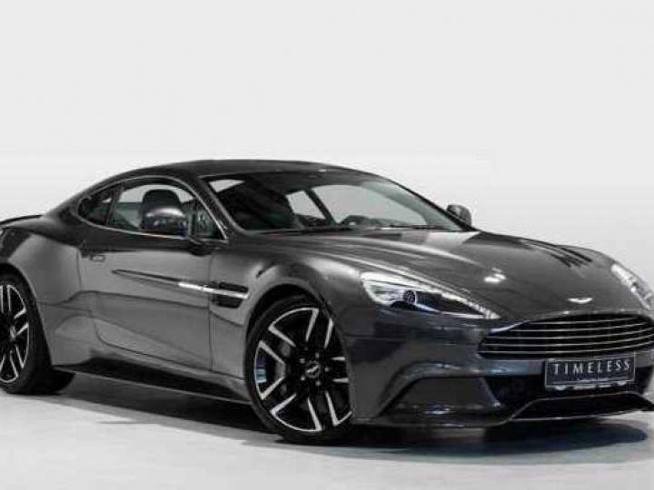 Aston Martin VANQUISH BVA TOUCHTRONIC III 8 rapports ZF# UNE VALEUR REFUGE Meteorite Silver métal - 1
