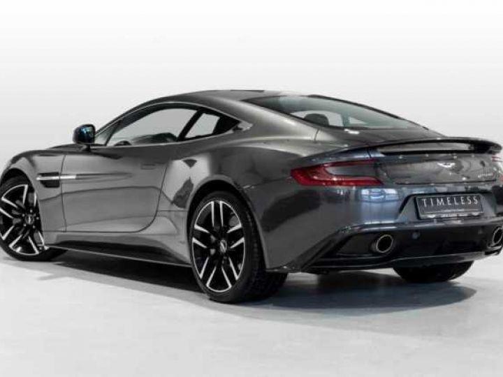Aston Martin VANQUISH BVA TOUCHTRONIC III 8 rapports ZF# UNE VALEUR REFUGE Meteorite Silver métal - 2