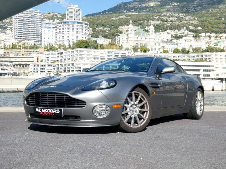 Aston Martin VANQUISH S 5.9 V12 528 2+2 Gris Tungsten Occasion - 1