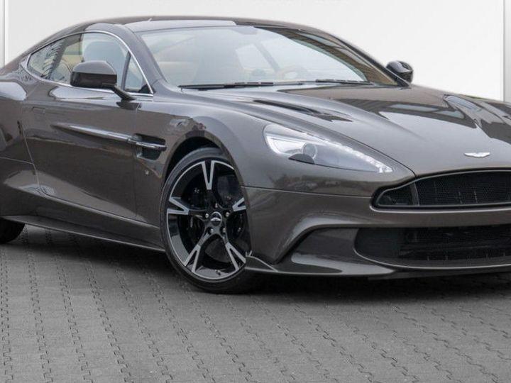 Aston Martin VANQUISH S PACK CARBONE/Volant One-77 - ETAT NEUF Cumberland Grey (Special Q) - 1