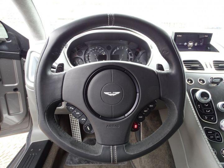 Aston Martin Vanquish V12 TOUCHTRONIC 573 CV COUPE - MONACO Tungsten Silver Metal - 10
