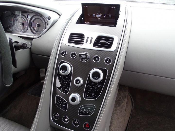 Aston Martin Vanquish V12 TOUCHTRONIC 573 CV COUPE - MONACO Tungsten Silver Metal - 11