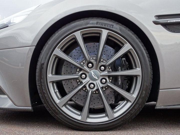 Aston Martin Vanquish V12 TOUCHTRONIC 573 CV COUPE - MONACO Tungsten Silver Metal - 13