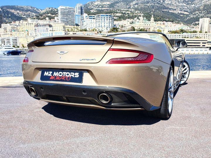 Aston Martin Vanquish VOLANTE V12 TOUCHTRONIC III Selene Bronze Métal Occasion - 14